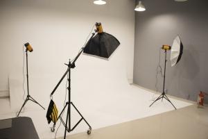 Estúdio fotográfico CWBe Coworking